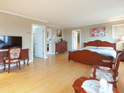 Photo for Ocean View Luxury Suite - Minutes to Downtown, UBC, Parks and beaches