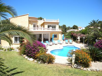 Photo for Beautiful Luxurious Villa, superb south facing private gardens with own Pool