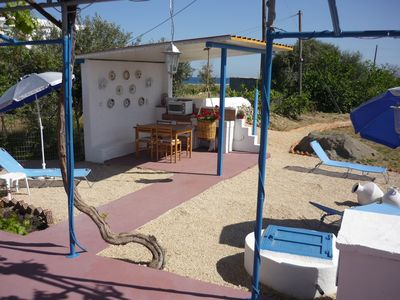 Photo for DETACHED BUNGALOW, PRIVATE GARDENS, only 100m from quiet beach. AMA 00000463579