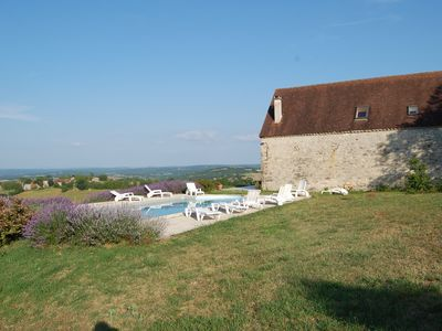 Photo for Renovated Barn with Private Pool between Sarlat and Rocamadour