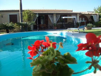 Photo for LAST MINUTE SEPTEMBER VILLA ORCHIDEA FOR 8 PERS.LUXURY HOLIDAY, POOL & SEA WI-FI