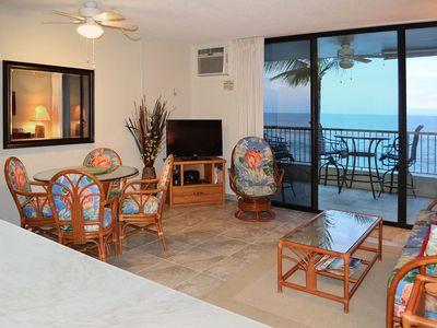 Beautiful Ocean View, Spacious, Cable HD TV,  A/C,