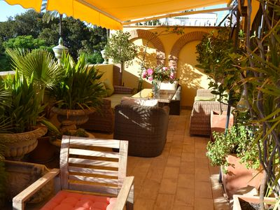Photo for Typical Andalusian house with 80m² terrace overlooking the historic center