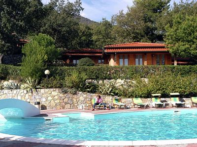 Photo for Bungalow located on a nature park with various facilities, including an outdoor pool