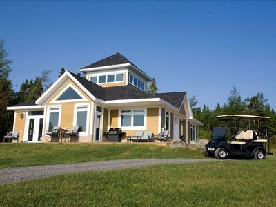 Photo for Newly Built House Overlooking Bras D'or Lakes - Golf Included in rates!