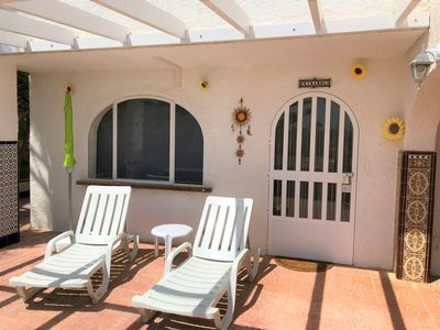 Photo for Girasol, charming apartment on the ground floor of villa with swimming pool on site!