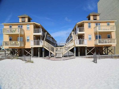 Photo for Sunrise Village 110 ~ What a view! Literally steps to the beach ~ Gulf Front ~FREE Wifi