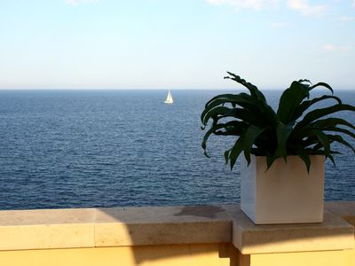 Photo for Luxury Apartment In Ancient Building With Breathtaking Ocean View in Ortigia
