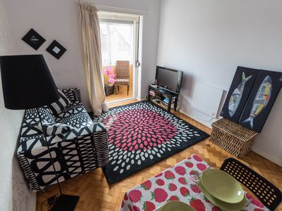 Photo for Chairming 2 bed flat in the center of Lisbon