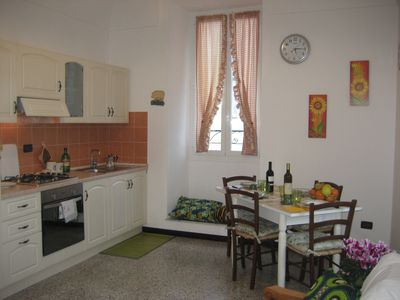 Photo for bright and cozy apartment in the historic center of Pieve di Teco