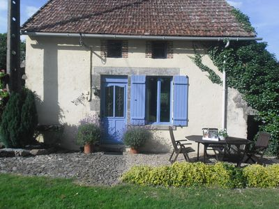 Photo for Charming rural cottage, wonderful views situated at the end of a quiet hamlet