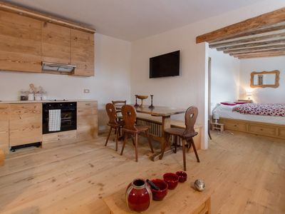 Photo for Tofana Cozy Studio for 2 People in Cortina d'ampezzo.