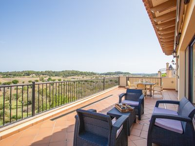 Photo for CAN NADAL - ADULTS ONLY - Apartment with private pool in SINEU.