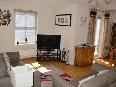 Photo for 4 STAR ENGLISH TOURIST BOARD APPROVED 2 BED APPARTMENT