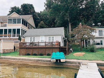 Photo for Beautiful Lakefront Property with 2 Cottages - Crooked Lake Angola, Indiana