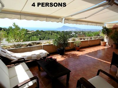 Photo for 2BR Apartment Vacation Rental in Altea