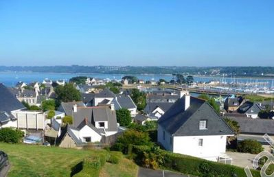 Photo for Apartment with harbor and sea view in Perros Guirec