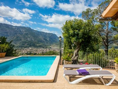 Photo for Beautiful little house with private pool in the valley of Sóller