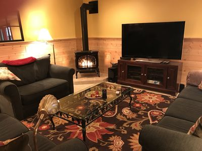 Large, One Bedroom Walk-out Apartment on Lake Superior near Munising & Marquette