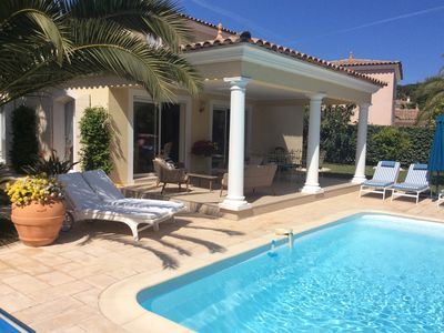 Photo for *** Dreamy Stay *** Luxury Villa by the sea, heated pool, perfect location