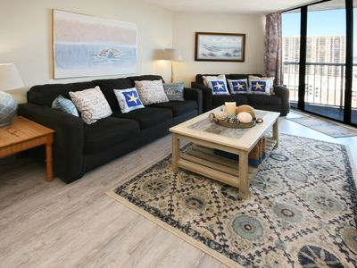 Photo for Beautiful Northern East Coast Views 2bd/2ba Condo @ Sands Ocean Club sleeps 8
