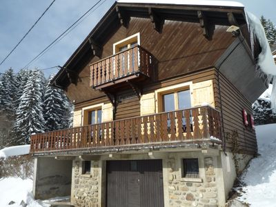 Photo for LES GETS Haute Savoie chalet for 6 persons from 300 € week