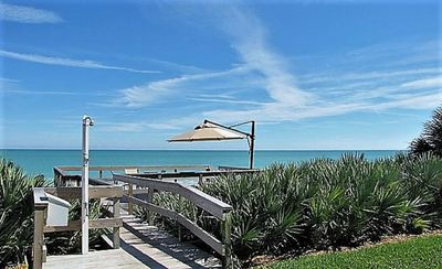Photo for Lovely oceanside condo with pool in Johns Island, Vero Beach