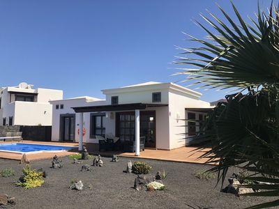 Photo for Villa With Heated Pool And Free WiFi In Faro Park, Playa Blanca, Lanzarote