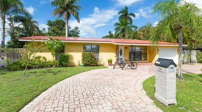 Photo for Recently Renovated Home 3Bed /2 Bath With Heated Pool Just 1 Mile From Beach