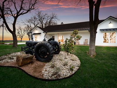 Photo for Brand New FARMHOUSE - Just minutes from the Silo District and Downtown Waco