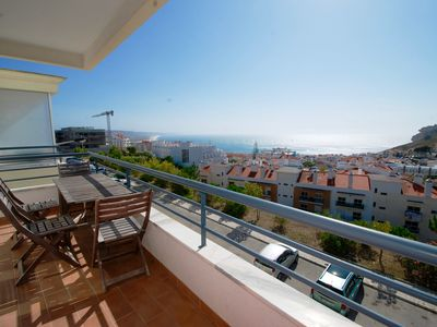Photo for Clementine - Apartment with sea view, WiFi, parking and central heating