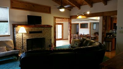 Photo for Apache Adobe Lodge, in the heart of Ruidoso! Private and secluded home!