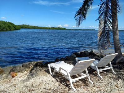 Photo for Key Largo FL, Ocean view property, only steps from the water