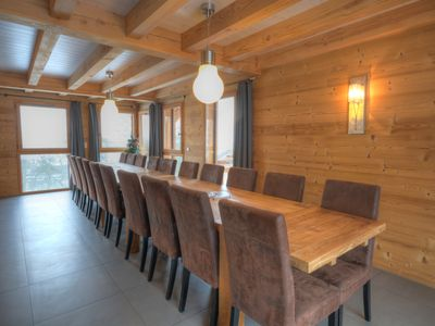 Photo for Luxury chalet with immediate access to the Grand Massif ski resort