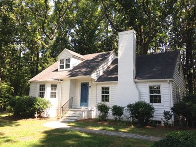 Photo for Wake Forest Area. Sleeps 10. 4 Br, 2 Bath, Queen bed in basement. Screened porch