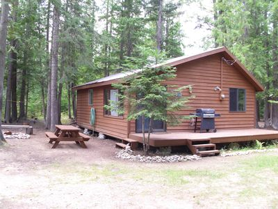 Photo for Escape To The Lake!  Cabin in the woods