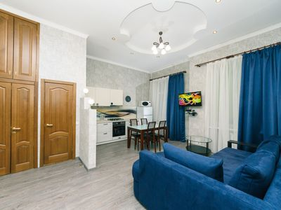 Photo for Two bedrooms. Studio. 5a Baseina. Centre of Kiev - Studio Apartment, Sleeps 5