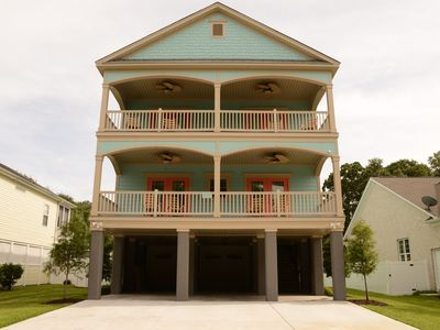 Brand New Luxury Beach House! Private Pool & Yard*Gorgeous Interior*Grill*WIFI