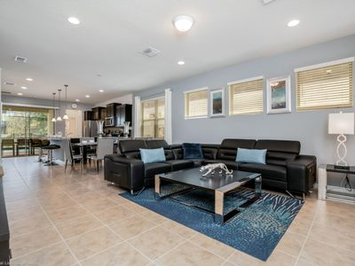 Photo for Exceptional 5 Bedroom Villa With Games Room and Spa on Windsor At Westside