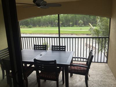 Photo for BONITA RESORT STYLE LIVING! GOLF & TENNIS PARADISE. TOP FLOOR CONDO. 1654 SQ FT