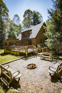 Photo for Complete Private Cove Property, 4 Houses, Stream front nestled in 400 acres