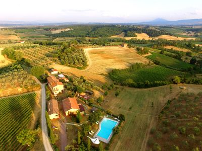 Photo for Independent apartment in Montepulciano