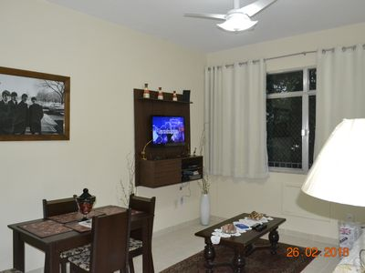 Photo for Ipanema 2 Bedrooms / Noble Point (two blocks from the beach, between 9/10)