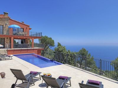 Photo for House with fantastic sea views located only 1km from the center of Begur and 4km from the