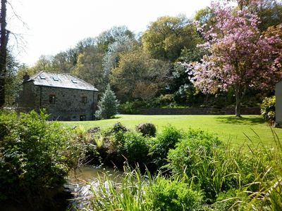 Coombe Mill from the stream