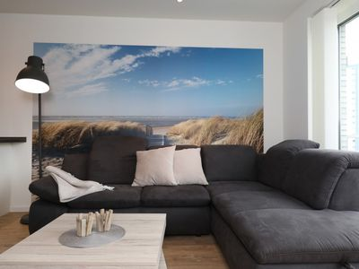 Photo for Bright, newly built apartment. Only a few meters to the beach!