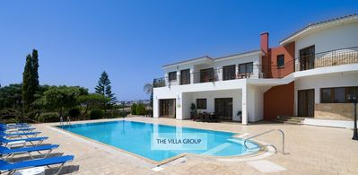 Photo for Pegeia Villa, Sleeps 10 with Pool, Air Con and WiFi