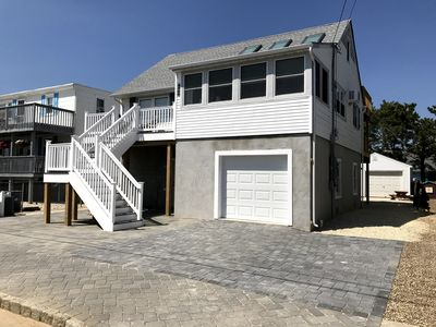 Photo for BEAUTIFULLY RENOVATED FOR 2018  - CHARMING cape in  Beach Haven - GREAT Yard