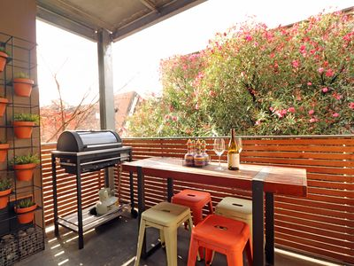 Photo for Balcony, BBQ, Pet Friendly, Parking, Central Heating, St Vincent's Hospital 550m