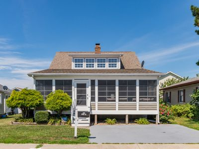 Photo for Newly-Updated in North OC - Bikes, Beach Gear, Big Deck w/ Sunset Views!